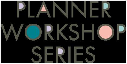 Planner Workshop Series Logo.
