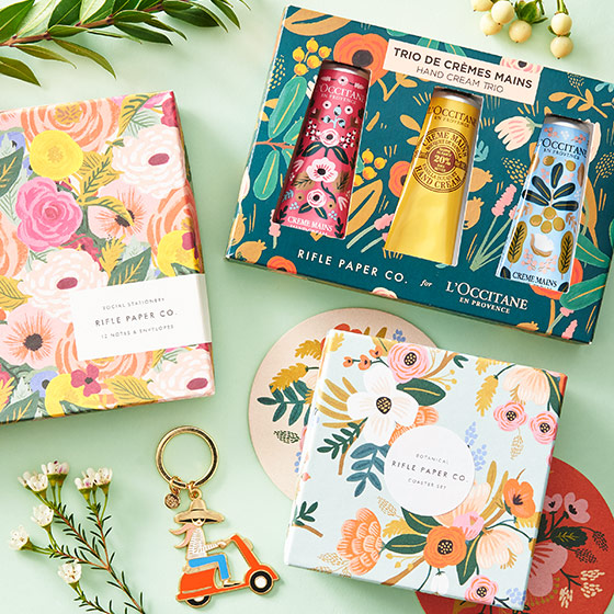 Stylish Gift Stationery, Beauty Products and more from Rifle Paper Co.