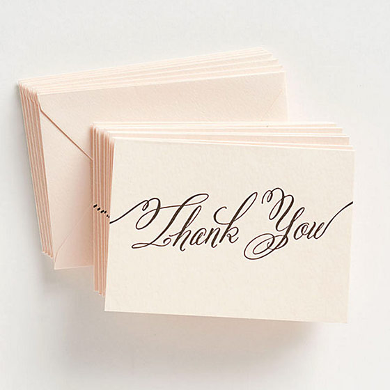 Unique Thank You Cards Sets