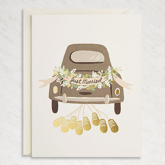 Unique Wedding Cards to Congratulate the New Couple