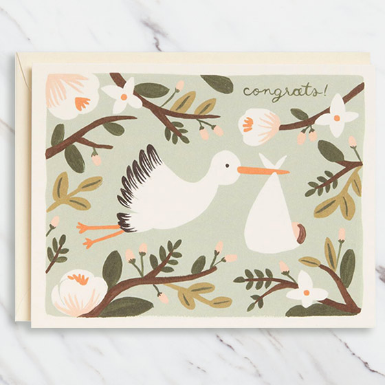 Unique and cute new baby cards