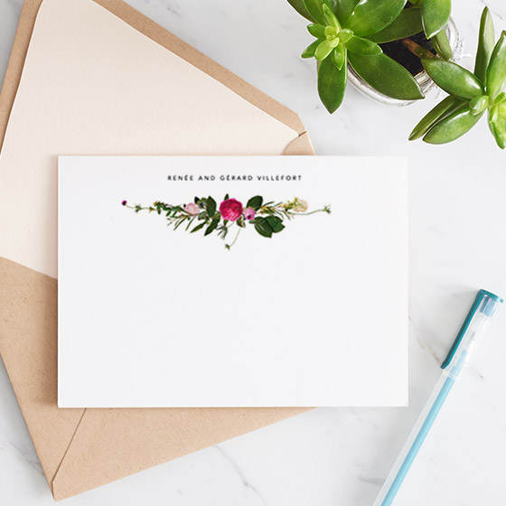 Personalized Stationery from Paperless Post