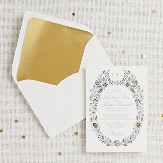 DIY Royal Wedding Invites