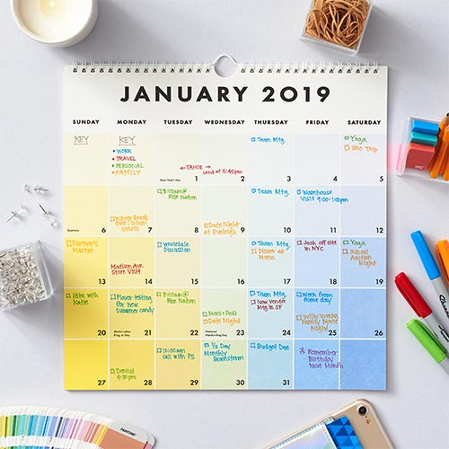 Sugarfina's Favorite Planning Calendar