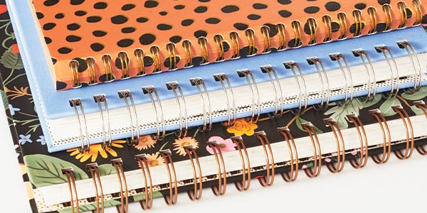 spiral binding on planners