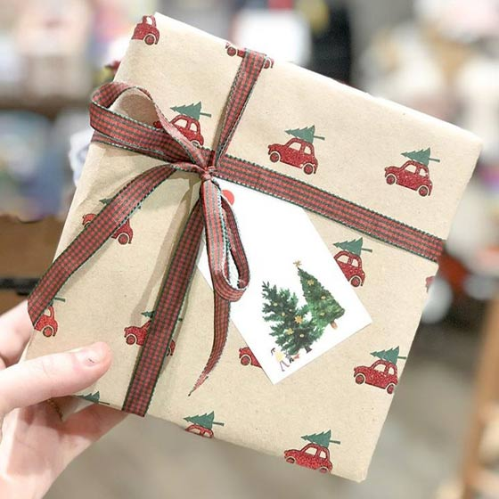 Holiday Wrapped Present