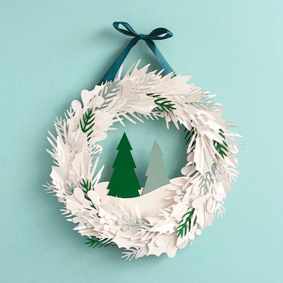 Winter Wreath Craft Kit