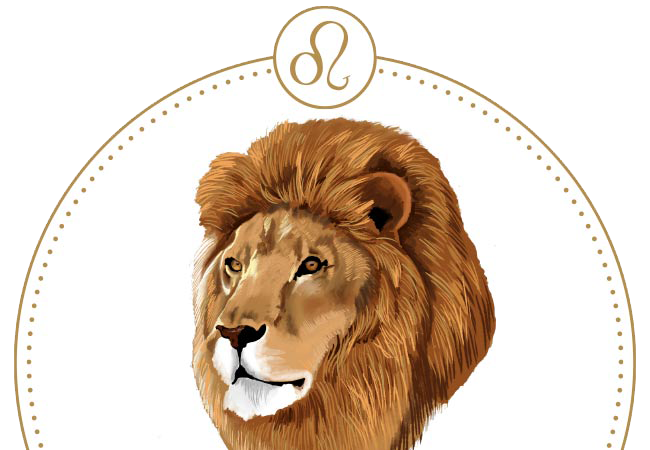 Beautiful artwork of the Leo astrological sign.