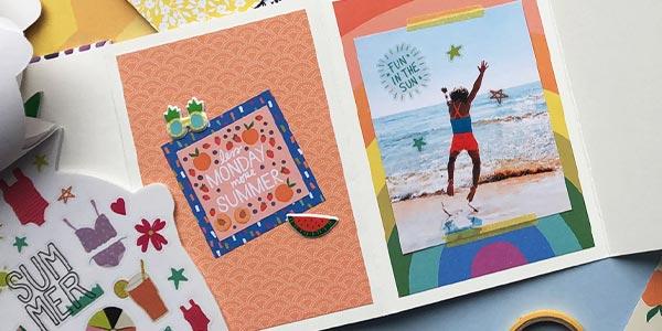 DIY Summer Memories Book