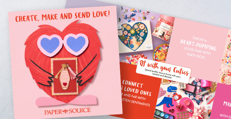 Paper Source 2020 Valentine's Day Catalog