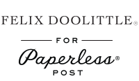 Felix Doolittle for Paperless Post Logo