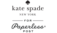 kate spade new york for Paperless Post Logo