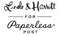 Linda & Harriet for Paperless Post Logo