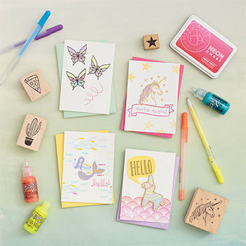 Create and Color Card Making Workshop