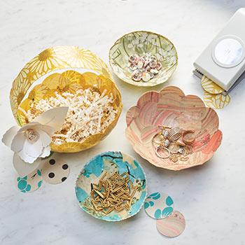 DIY Paper Bowls Workshop