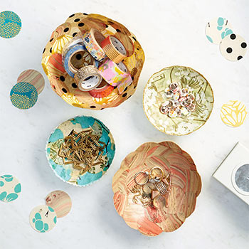 Kids DIY Paper Bowls Workshop