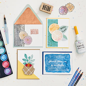 Summer Card Making Workshop