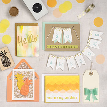 Sunny Greetings Card Making Workshop