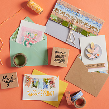 Washi Tape Card Making Workshop