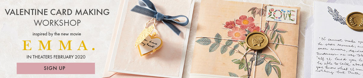 Valentine Card Making Workshop Inspired by the Movie Emma