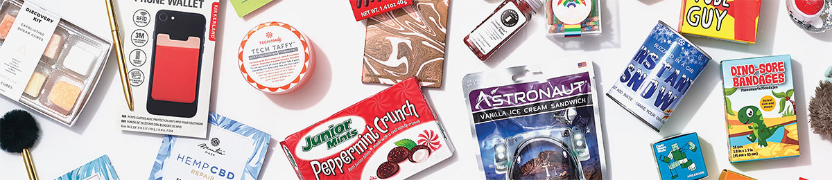 candy and goodies for stocking stuffers