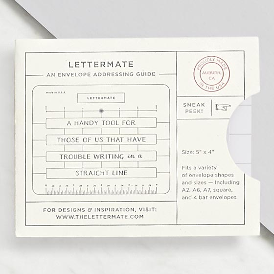 Lettermate Addressing Tool