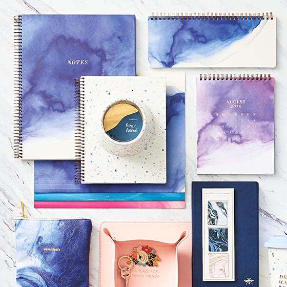 Shop Watercolor Inspired Desk Accessories and Gifts