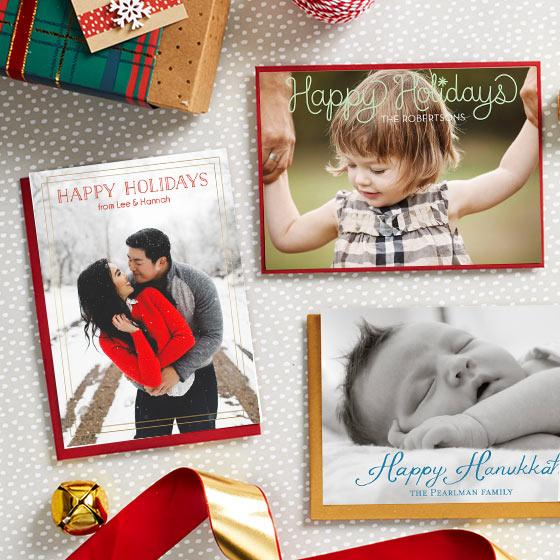 Custom Holiday Photo Cards