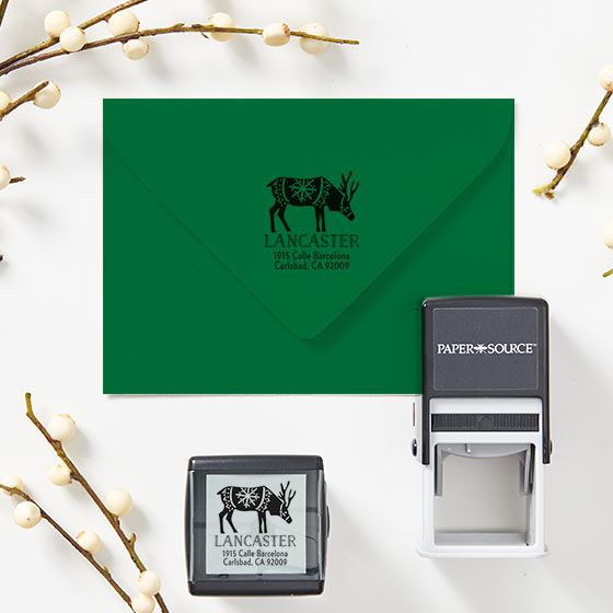 Custom Holiday Stamps