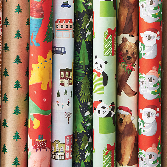 Christmas Wrapping Paper 2018