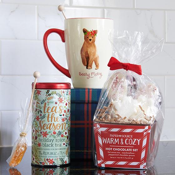 Bear Christmas Mug and Treats