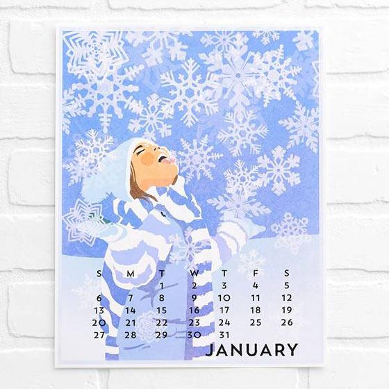 Pretty Calendars
