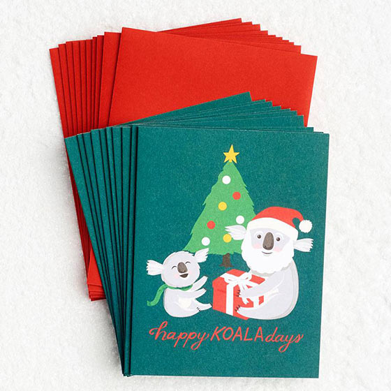 40 off holiday card sets
