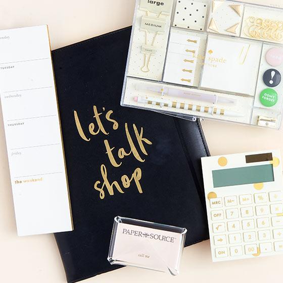 upscale desk accessories