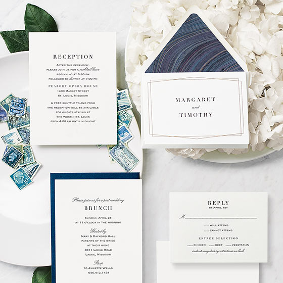 wedding invitations by paper source
