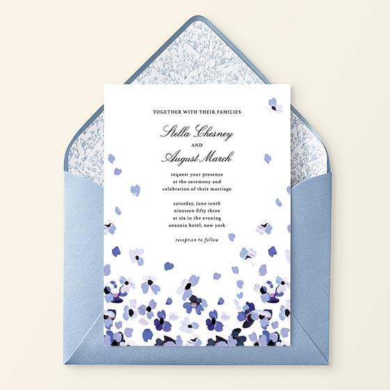 Custom Wedding Invitations by Paperless Post
