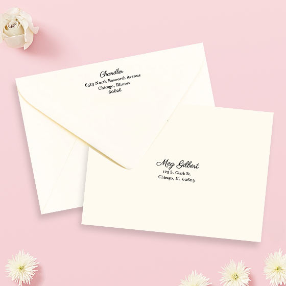 Custom Envelope Address Printing