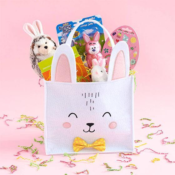 funny bunny easter basket