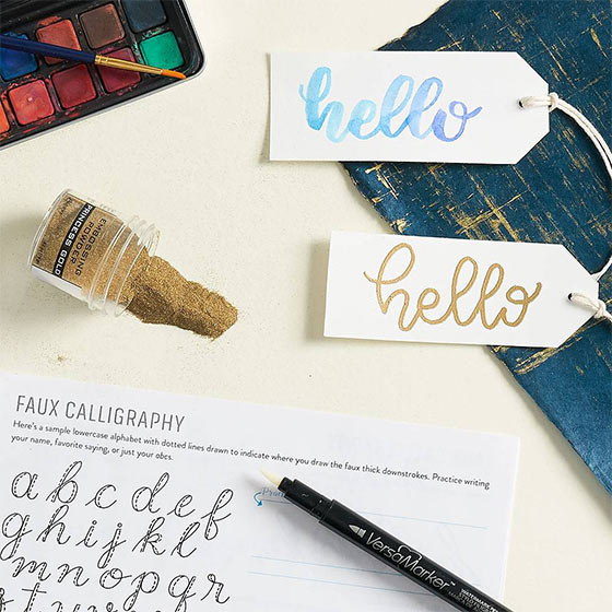 Sign Up for a Handlettering Workshop