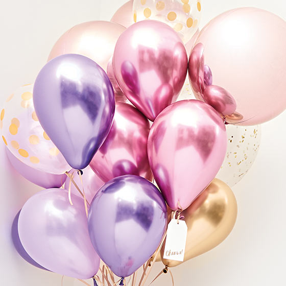 cute balloons for parties