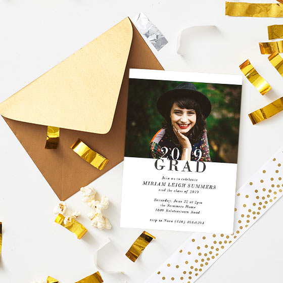cool graduation party invitations