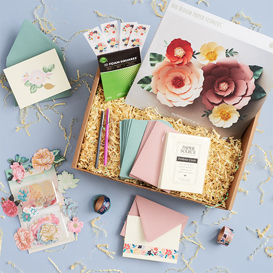 paper garden march creativity box