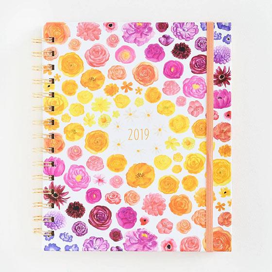 floral rifle wall calendar