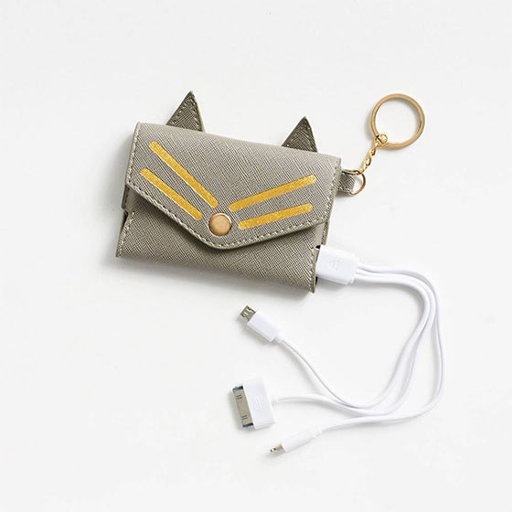 Cute charging accessory with cat ears