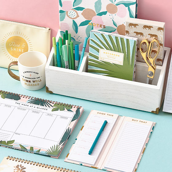 cute summer office supplies