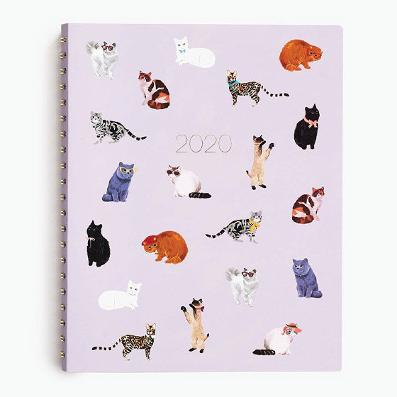 sophisticated cats planner
