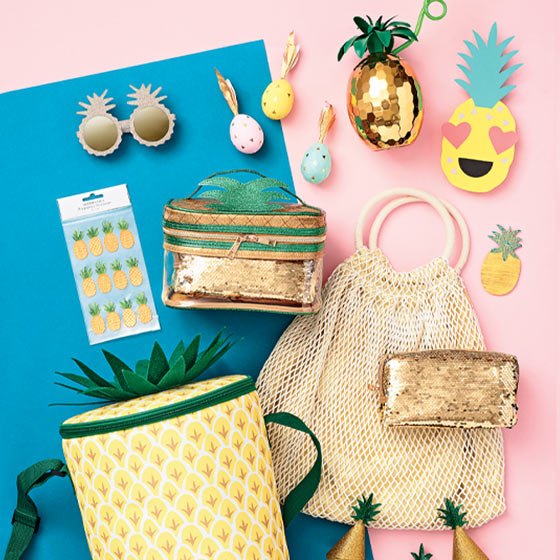 pineapple-themed products