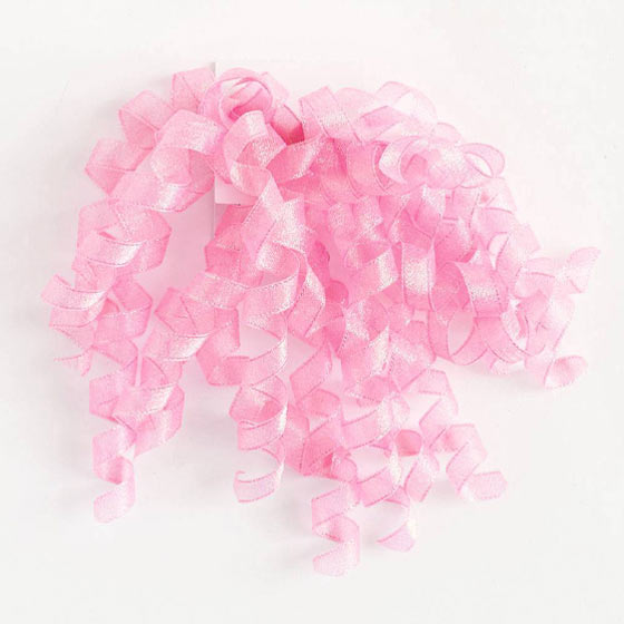 pink gift wrapping bow