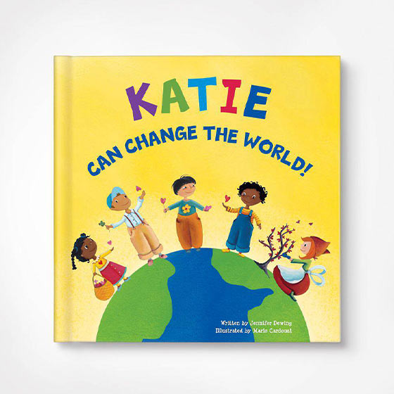Change the World Custom Kids Book
