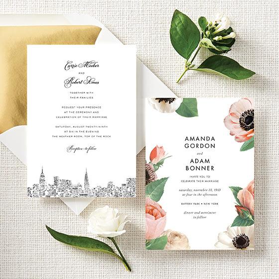 ksny wedding invitations